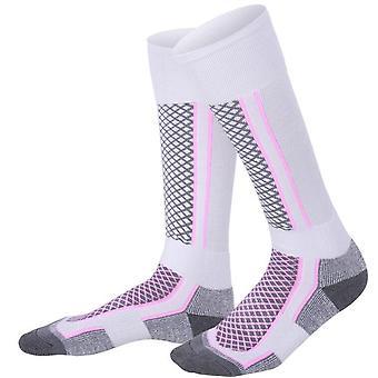 Men Women Winter Outdoor Sport Snowboarding Hiking Ski Socks Warm Thicker &