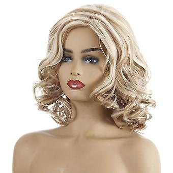 Women's Wig Women's Short Curly Hair Synthetic Wigs Wig