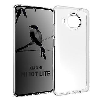 Coque Pour Xiaomi Mi 10t Lite, Housse De Protection En Silicone De Haute Qualité, Transparent