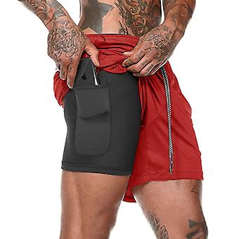 Summer Sports Jogging Fitness Gym Training Quick-drying Shorts