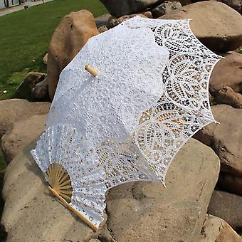 Steampunk/südliche Belle Kostüme Party Dekoration Spitze Regenschirm