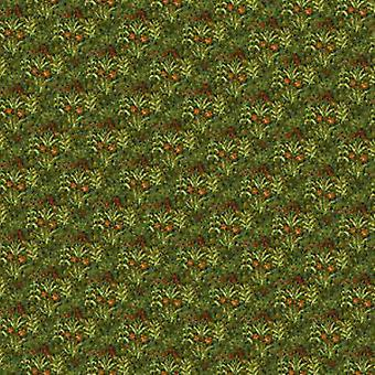 Dolls House Tudor Wallpaper Field Of Flowers Miniatuur Print 1:12 Schaal
