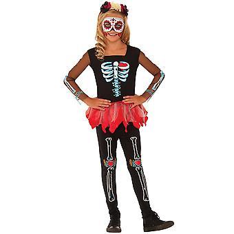 Bristol Novelty Childrens/Kids Scared To The Bone Costume