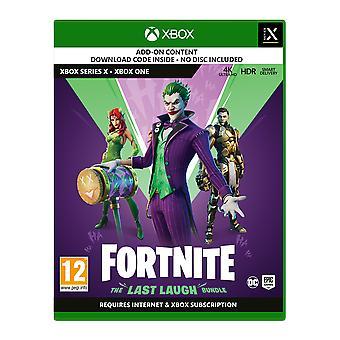 Fortnite آخر ضحكة إكس بوكس واحد | سلسلة X لعبة [رمز في مربع]