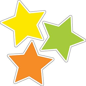 Color Stars Cut-Outs, Pack Of 36