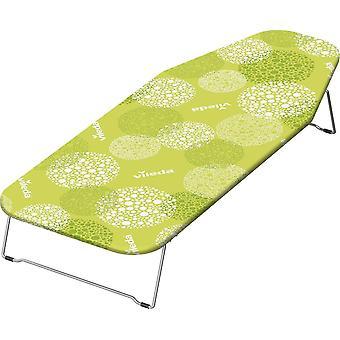 Vileda Carino Table Top Ironing Board, Metal, Green, 100 x 38cm