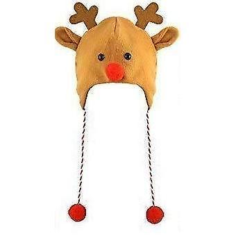 Henbrandt 1 x reindeer hat for adults