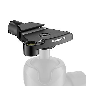 Manfrotto traveler top lock quick release adaptor - arca-compatible plate-holder for befree tripods,
