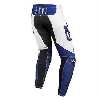 2020 Shot Aerolite MX Pants Adult - Husqvarna Blue White