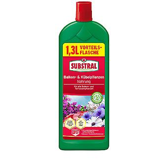 SUBSTRAL® Balcony & Potted Plants Food, 1.3 liters
