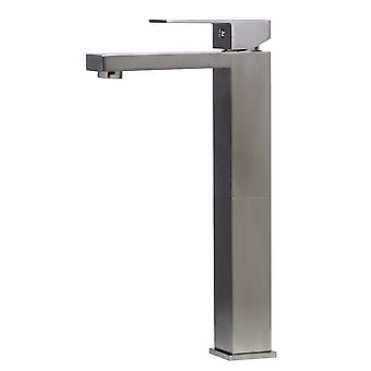 Alfi Brand Ab1129-Bn Brushed Nickel Tall Square Single Lever Bathroom Faucet