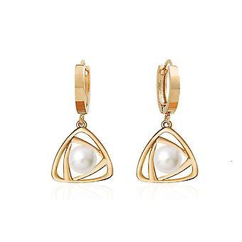Belen Perle Tropfen Ohrringe mit 14 k Gold Pin