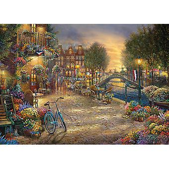 Gibsons Jigsaw Puzzle Amsterdam Cafe 1000 Pieces
