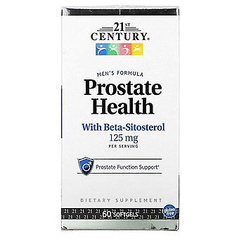 Siglo XXI, Salud de la próstata con Beta-Sitosterol, 125 mg, 60 Softgels