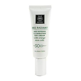 Bee radiant age defense illuminating day cream spf 30 (exp. date: 07/2021) 259955 40ml/1.48oz