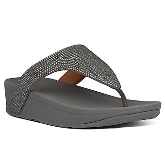 FitFlop™ Lottie Shimmercrystal Womens Toe Post Sandals
