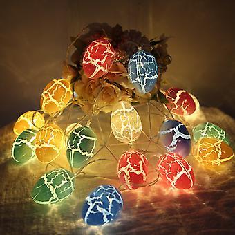 Ostern Crack Ei String Licht Ostern Fee Lichter Lichter für Party Ornament Girlande