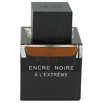 Encre Noire A L'extreme Eau De Parfum vaporizador (probador) por Lalique 3.3 oz Eau De Parfum Spray