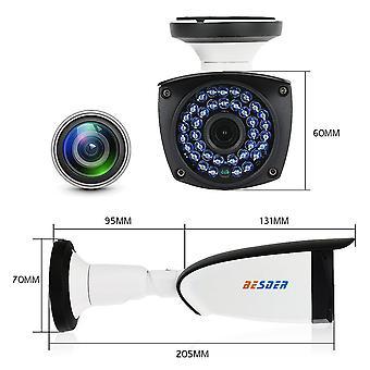 BESDER 1080P HI3518E CamHi APP Wifi IP-kamera CCTV 2MP Ulkona Langaton Valvonta IP-kamera