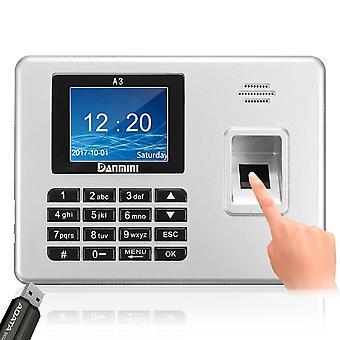 Danmini 2.8inch TFT Biometric Fingerprint Password Access Attendance Time Clock