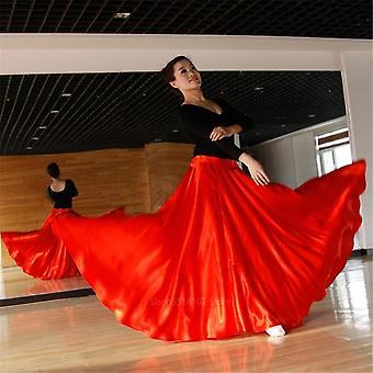 Vestido de fantasia flamenco espanhol, performance de festival de salão, bandagem de dança