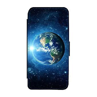 Custodia portafoglio Planet Earth iPhone 12/iPhone 12 Pro