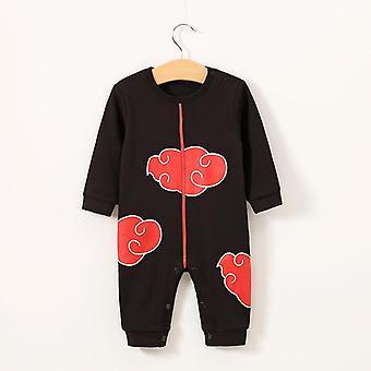 Baby 100% Хлопок Мультфильм Стиль Длинные рукава Jumpsuits