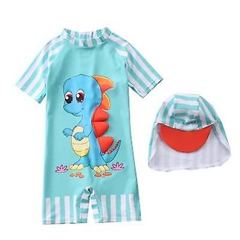 Swimwear Hat Set Shark Dinosaur