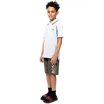 BOSS Kids Kaki Bermuda Shorts
