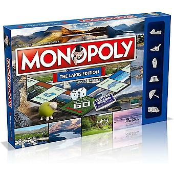 Monopoly the lakes board game