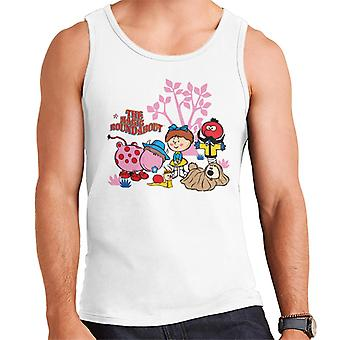 The Magic Roundabout Retro Cartoon Style Men's Vest