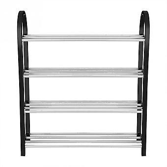 Aluminium Metal Stående Sko Rack