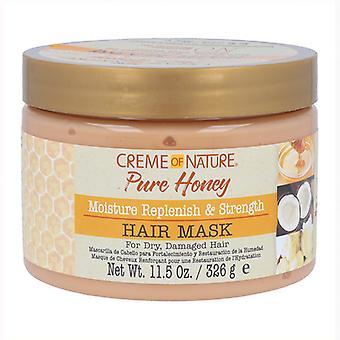 Creme Of Nature Masque capillaire Rs hydratant au miel pur 326gr