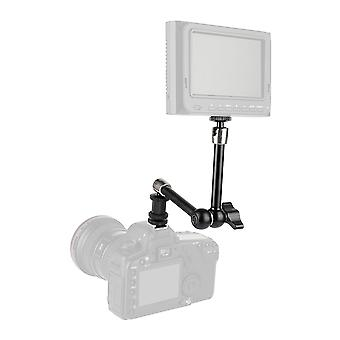 """7"""" & 11"""" Articulating Magic Arms With Shoe Mount (black Knob)"""