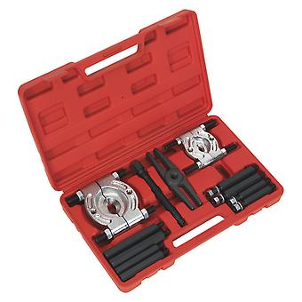 Sealey Ps984 Double Mechanical Bearing Separator/Puller Set 12Pc
