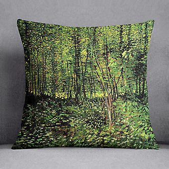 الأشجار و undergrowth 2 بواسطة فان جوخ وسادة