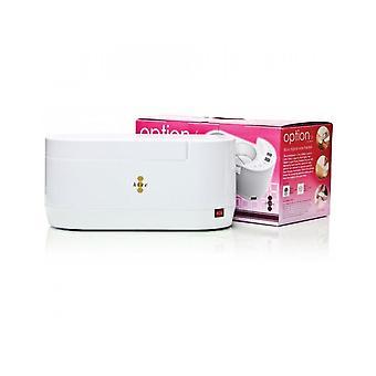 Colmena de belleza encerando caliente o parafina cera 0.5 & 1 litro calentador digital dual