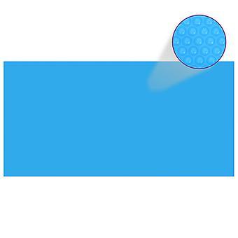 Прямоугольное покрытие для бассейна PE синий 732 x 366 см