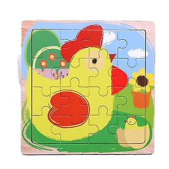 Puzzle zabawki dzieci edukacja intelektualna układanka prezent pt121
