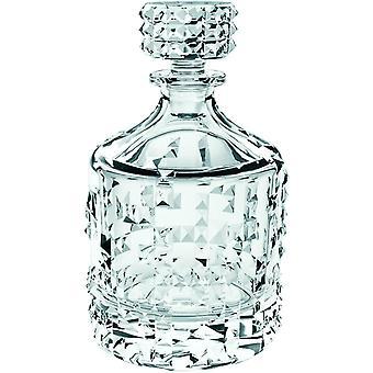 HanFei Spiegelau Nachtmann, Whisky-Dekanter, Whiskyflasche, Kristallglas, 0,75 Liter, Punk,