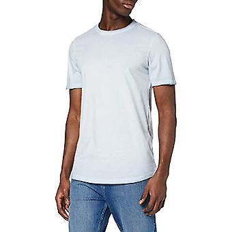 JACK & JONES Jordemba Tee SS Crew Neck KA T-Shirt, Ashley Blue, L Man