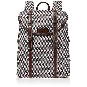 Mac Douglas Lhassa Paloma M - Women's Backpack Bags, Brown (Diamant Moka Acronyms), 12x32x25.5 cm (W x H L)
