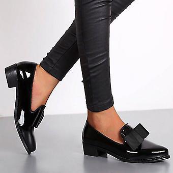 Fashion Toe Women Flats Schoenen, Bow Vrouwen Schoenen