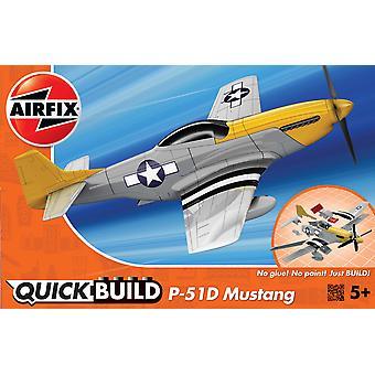 P-51D Mustang Airfix Pikarakentamismallisarja