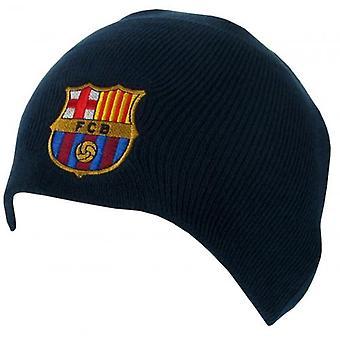 FC Barcelona Navy stickad hatt