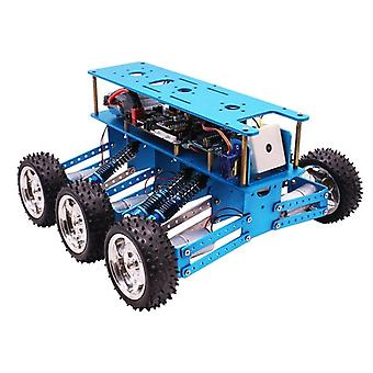 Arduino 6wd off-road robot kit search rescue smart car with chassis platform 6-wheel drive aluminum alloy rc car