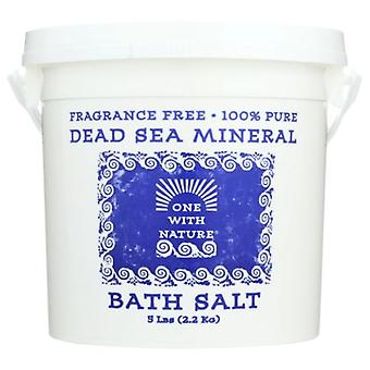 One with Nature Dead Sea Mineral Bath Salt, 5 lb