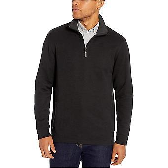 Essentials Męski sweter z francuskiego żebra