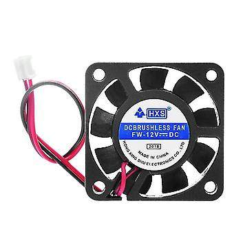 new dc 12v 2 pin lead wire air exhaust cooling fan sm62495