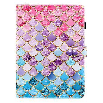 Case For Ipad Pro 11 Inch 2021 (3rd Generation) Cover Auto Sleep/wake Rotating Multi-angle Viewing Folio Stand - Color Fish Scales